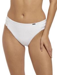 6358 Fantasie Ottawa Mid Rise Bikini Brief - 6358 White
