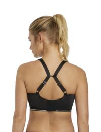 4004 Freya Epic Underwired Crop Top Sports Bra With Moulded Inner Cups - 4004 Nero Black