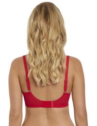 5013 Freya Soiree Lace Underwired Padded Plunge Bra - 5013 Rouge