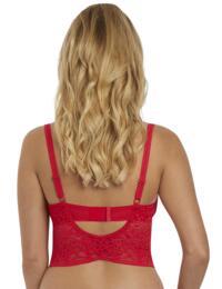 5014 Freya Soiree Lace Underwired Longline Bralette - 5014 Rouge