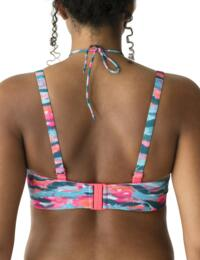 4005217 Prima Donna Swim New Wave Padded Strapless Bikini Top - 4005217 Clash