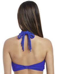 4053 Freya Macrame Padded Bandeau Bikini Top - 4053 Cobalt