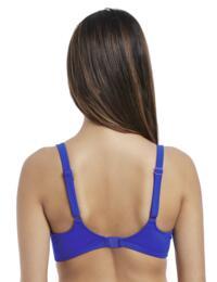 4054 Freya Macrame Sweetheart Padded Bikini Top - 4054 Cobalt