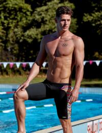 FT37M02066 Funky Trunks Mens Dripping Training Jammers - FT37M02066 Dripping