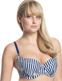 CW0062 Cleo Lucille Balcony Bikini Top  - CW0062 Nautical