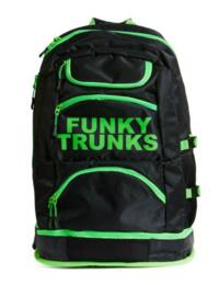 FTG003N Funky Trunks Accessories Elite Squad Backpack - FTG003N01893 Lime Light