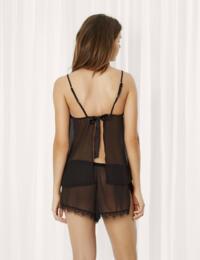 40602 Bluebella Copper Cami And Shorts Set - 40602 Black