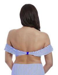 6552 Freya Totally Stripe Bardot Bikini Top - 6552 Cobalt
