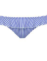6554 Freya Totally Stripe Italian Bikini Brief - 6554 Cobalt