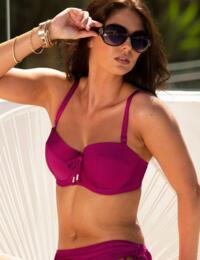 17400 Pour Moi Coco Beach Strapless Bikini Top - 17400 Cassis