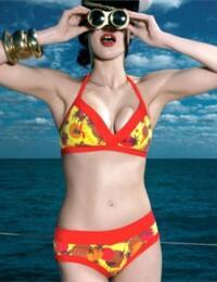9677 Freya Tequila Sunrise Bikini Top SAVE 70% - 9677 Bikini top