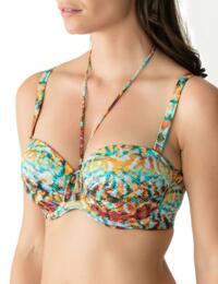 4005917 Prima Donna Swim Vegas Padded Strapless Bikini Top - 4005917 Colour Mix