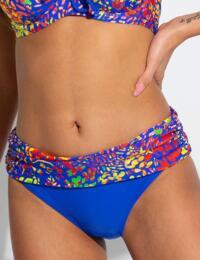 12703 Pour Moi Bohemia Fold Over Bikini Brief - 12703 Madagascar