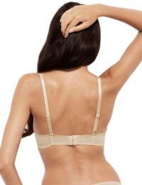 13001 Gossard Glossies Lace Sheer Bra - 13001 Nude