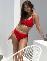 15211 Pour Moi Santa Monica Multiway Underwired Bikini Top - 15211 Red