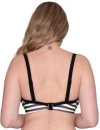 CS012300 Curvy Kate Sunseeker Balcony Bikini Top - CS012300 Monochrome