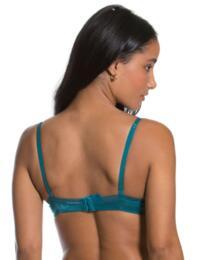 6271 Gossard Glossies Sheer Bra - 6271 Emerald Green