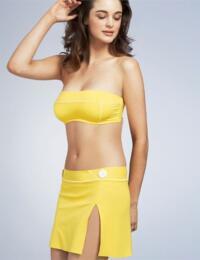 9499 Freya Sugar Bay Bandeau Bikini Top Lemon - 9499 Bandeau Top