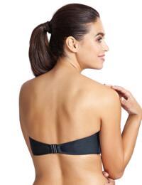 Panache Marina Moulded Bandeau Bikini Top Graphite