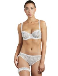Aubade Pour Toujours Garter in Opale