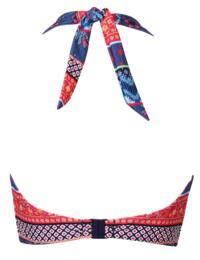 Pour Moi Soleil Multiway Longline Bikini Top in Multi