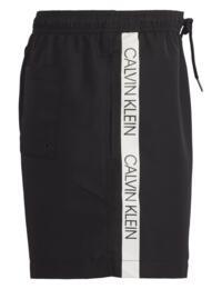 Calvin Klein Mens Drawstring Trunks in Black