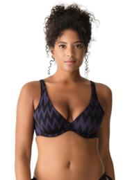 Prima Donna Venice Padded Triangle Bikini Top Black