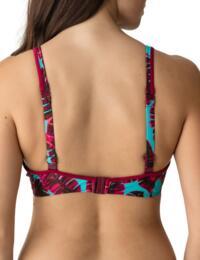 Prima Donna Swimwear Palm Springs Padded Triangle Bikini Top Pink Flavor