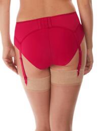 Fantasie Leona Suspender Belt Red