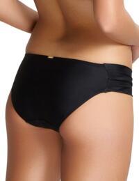 Panache Anya Riva Gather Bikini Pant Black