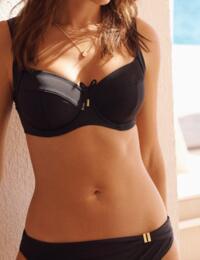 Panache Anya Riva Balcony Bikini Top Black