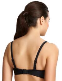 Panache Anya Riva Twist Bandeau Bikini Top Black
