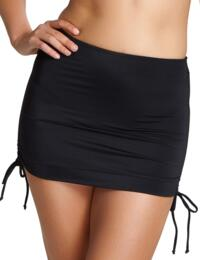 Panache Anya Riva Skirted Bikini Pant Black