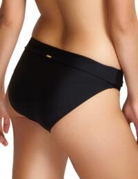 Panache Anya Riva Fold Bikini Pant Black