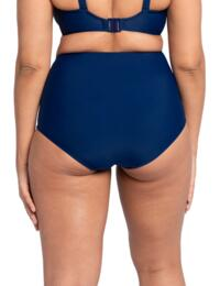CS019505 Curvy Kate Retro Sun High Waist Swim Brief - CS019505 Navy