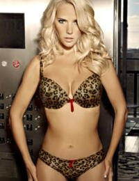 0328 Ultimo The One Cleo Plunge Bra Animal Print - 0328 Bra