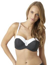 SW0823 Panache Britt Bandeau Bikini Top - SW0823 Black
