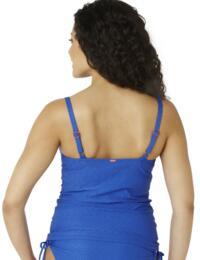 CW0081 Cleo Matilda Tankini Top  - CW0081 Cobalt Blue