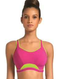 4004 Freya Active Moulded Crop Top Sports Bra  - 4004 Pink Glow