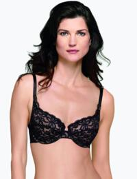 851166 Wacoal All Dressed Up Underwired Bra - 851166 Black
