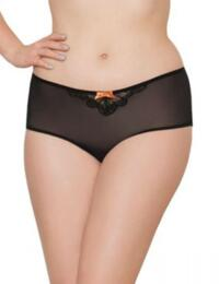 SG3303 Curvy Kate Kitty Short Black/Copper - SG3303 Short