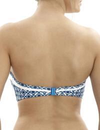SW0973 Panache Rocha Bandeau Bikini Top - SW0973 Mosaic Print
