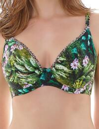 3936 Freya Rumble Plunge Bikini Top Tropic - 3936 Plunge Top