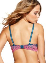 853191 Wacoal Embrace Lace Contour Bra - 853191 Legion Blue/Lilac