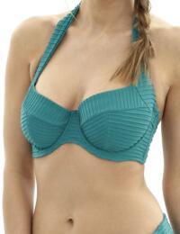 SW0962 Panache Venice Halterneck Balcony Bikini Top Emerald - SW0962 Halter Top