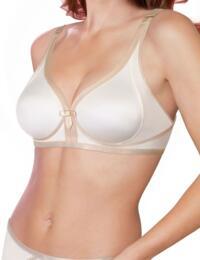 P02ZI Playtex Ideal Beauty Bra  - P02ZI Antique White