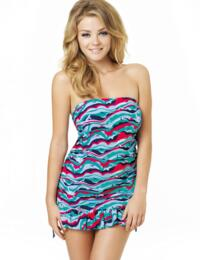 CW0011 Cleo Swimwear Tilly Tankini Swim Dress - CW0011 Tankini