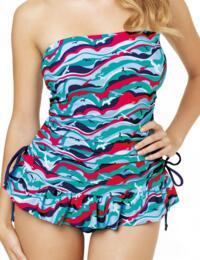CW0011 Cleo Swimwear Tilly Tankini Swim Dress - CW0011 Tankini