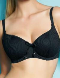 3292 Freya Cha Cha Padded Bikini Top Black - 3292 Padded
