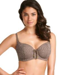 3292 Freya Cha Cha Padded Bikini Top Truffle - 3292 Padded